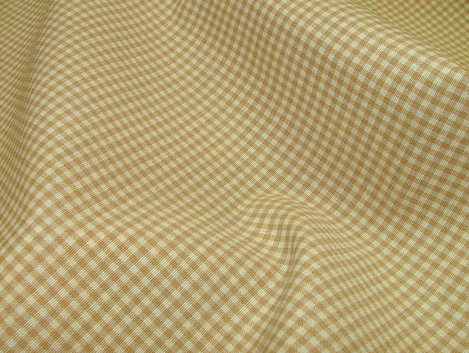 Prestigious Textiles Beige Gingham Curtain Soft Furnishing